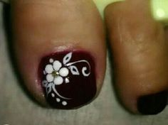 Toenail Art Designs, Fall Nail Art Designs, Pedicure Designs, Colorful Nail Designs, Nail Polish Designs, Pedicure Nail Art, Toe Nail Art, Manicure And Pedicure, Pretty Toe Nails