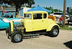 "One of my favorite cars. A replica of John Milner's car from ""American Graffiti"""