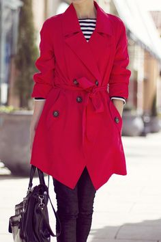 Classy and fabulous: Coral Red