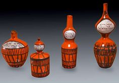 red-ceramic-bottle-set-Capron