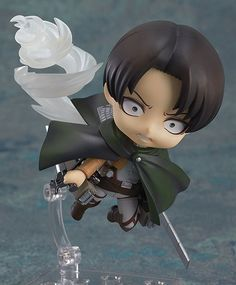 Get the Nendoroid of the Coolest guy from Attack on Titan! Right now we have a MASSIVE 35% OFF! The sale ends in a few days - we only have this sale once every few weeks and you found it, Lucky you! E