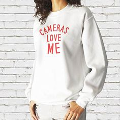 A fun and playful slogan placed on a high quality, comfortable sweatshirt. Available in two colour schemes, the stylish fit, crew neck sweatshirts are complete with soft cotton faced fabric, twin needle stitched detailing and a ribbed collar, cuffs and hem for maximum comfort and fit.