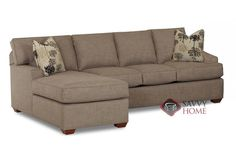 Palo Alto Chaise Sectional Full Sleeper Sofa by Savvy at Savvy Home. $2,129.00