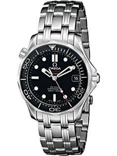Omega Unisex Seamaster Diver Co-Axi ❤ Omega Swiss Made Watches, Omega, Unisex