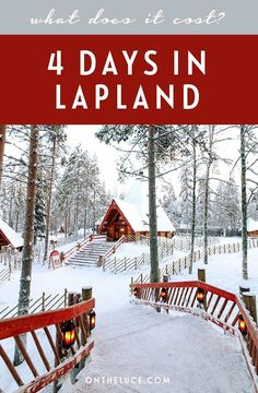 How much does it cost to visit Lapland? A budget breakdown for 4 days in Rovaniemi, Finland, including transport, accommodation, activities and food. Finland Trip, Finland Travel, Lapland Finland, Finland Food, Cool Places To Visit, Places To Travel, Travel Destinations, Places To Go, Christmas Destinations