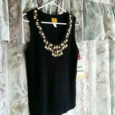 Ruby Rd top. Gorgeous  detail Size large. Nwt Ruby Rd Tops Tank Tops