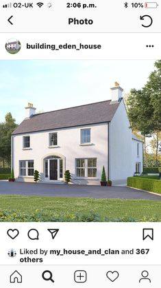 Farmhouse Renovation, Farmhouse Design, House Outer Design, Farmhouse Contemporary, Exterior Windows, Barn Kitchen, Georgian House, English Country Cottages, Modern Cottage