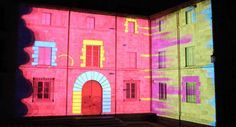 Call for videomapping by IAM project. Location: Alghero