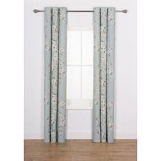 Buy Heart of House Blossom Curtains - 168 x 183cm - Duck Egg at Argos.co.uk - Your Online Shop for Curtains. #ArgosRoomInspiration
