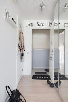 Scandinavian design. Hallway