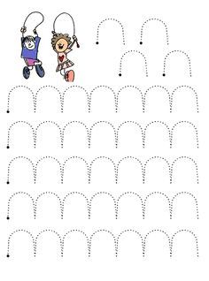 Line Worksheet - Preschool Writing, Numbers Preschool, Preschool Learning Activities, Writing Activities, Kids Learning, Nursery Worksheets, Pre K Worksheets, Kindergarten Addition Worksheets, Kindergarten Worksheets