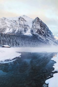 "souhailbog: ""Lake Louise By Tanner Wendell 