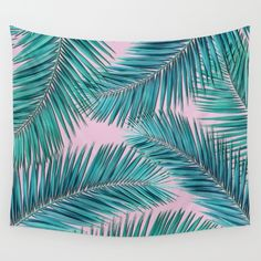 Buy palm tree  Wall Tapestry by mark ashkenazi. Worldwide shipping available at Society6.com. Just one of millions of high quality products available.