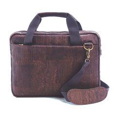 Computertasche aus Kork «Brown» von Artelusa – 15 Zoll Laptoptasche Unisex, Shopper, Messenger Bag, Satchel, Smartphone, Bags, Collection, Products, Fashion