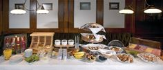 Frühstücksbuffete Table Settings, Place Settings, Tablescapes