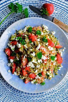 Feta, Waldorf Salat, Cooking Recipes, Healthy Recipes, Healthy Food, Time To Eat, Recipes From Heaven, Soul Food, Salad Recipes