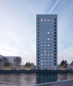 David Chipperfield Architects kattendijkdok towers 3 & 4 . antwerp