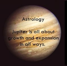 Jupiter is all about growth and expansion in all ways. http://www.vedicartandscience.com/2011/08/29/free-vedic-astrology-lesson-planets-jupiter/