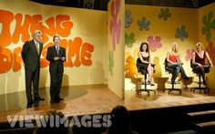 The Dating Game show set