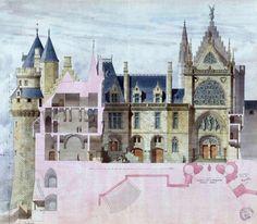 viollet-le-duc Un passé recréé: Pierrefonds   L'histoire par l'image