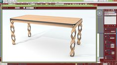 Table Modeling With 3ds Max