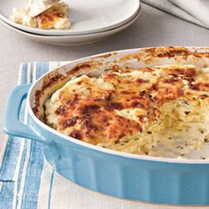 Hearty Thanksgiving Casseroles: Classic Parmesan Scalloped Potatoes