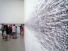 2010, Roman Ondak in Stedelijk Museum, Amsterdam
