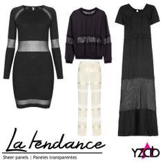 REPORTE #YZAB TENDENCIAS 2014 Colores: paneles traslúcidos Secciones horizontales en blusas, faldas, pantalones y vestidos en telas transparentes son un forma recatadamente sensual de mostrar lo que esconde la ropa. Inspírate con más tendencias para 2014 en www.yzab.com.ve #YZAB #ESTÉTICA #Tendencias #EstilismoEspiritual