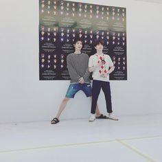 ChanYeol and Suho