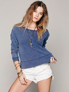 Free People Lace Inset Zip Up Hoodie at Free People Clothing Boutique