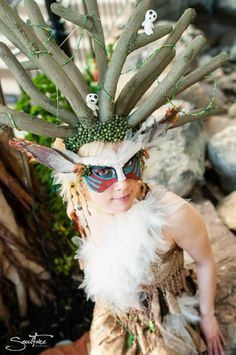 The Forest Spirit (cosplay) - Princess Mononoke, Studio Ghibli