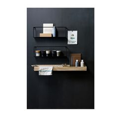 Pin from www. Kitchen Dinning Room, New Kitchen, Storage Shelves, Shelving, Interior Architecture, Interior Design, Shelf Design, Kitchen Interior, Floating Shelves