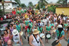 Paraty já vive o clima da folia. Neste fim de semana acontece o segundo e último fim de semana de Pré Carnaval.