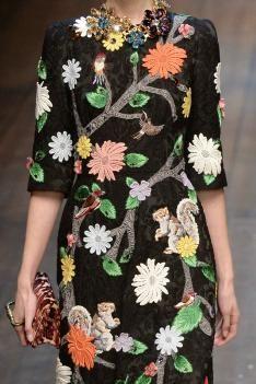A/W 14/15 Milan women's print & pattern catwalk analysis