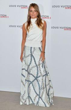 Cressida Bonas Photos: Louis Vuitton Series 3 VIP Launch - Arrivals - Celebrity Fashion Trends