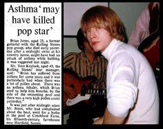 3rd July 1969 - Death of Brian Jones