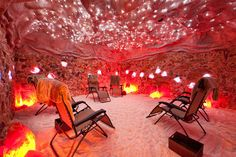 If you've never heard of Halotherapy, you're going to want to experience it for yourself. This salt cave in Columbus, Ohio is simply amazing.