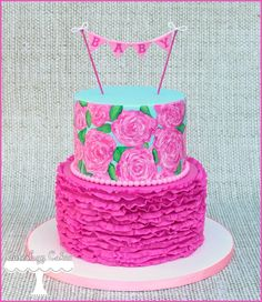 Lilly Pulitzer Cake Ideas - Yahoo Image Search Results