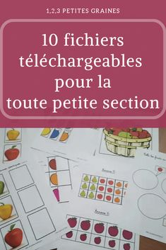 10 fichiers téléchargeables toute petite section Montessori Education, Montessori Activities, Baby Education, Kindergarten Activities, Activities For Kids, Preschool, Easy Toddler Crafts, Kindness Activities, French Classroom