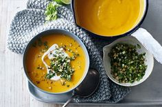 Just when you thought you've already made the best pumpkin soup, in steps Kim with this Thai-style version.
