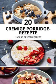 The Great Porridge Cookbook: Our Best Porridge Recipes eatsmarter.de # breakfast # oat flakes The Great Porridge Cookbook: Our Best Porridge Recipes eatsmarter. Mexican Food Recipes, Vegetarian Recipes, Dessert Recipes, Healthy Recipes, Porridge Recipes, Soup Recipes, Oats Recipes, Cookbook Recipes, Drink Recipes