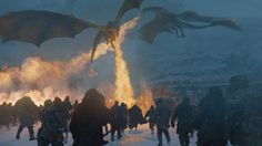 """Dragons & Wights (7x6 """"Beyond the Wall"""")"""