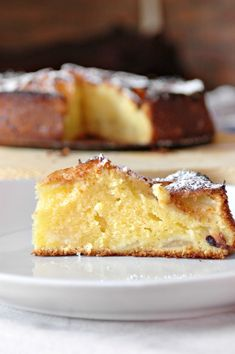 Mamma Papera — Torta di mele della nonna velocissima