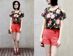 Floral Frenzy  (by IAN CHEN) http://lookbook.nu/look/3549859-Floral-Frenzy