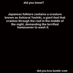 wtf japan?  Seriously, even your folk lore  is fuckin weird...