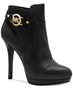 MICHAEL Michael Kors Wyatt Platform Booties - MICHAEL Michael Kors - Shoes - Macys