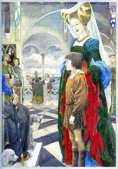 – Alan Lee – illustration from 'Merlin Dreams'