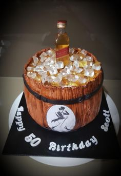 193 Best Alcohol cake images in 2019 | Cakes for men, Birthday Cakes ...