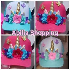 Gorras unicornio Decoradas y personalizadas Abilia Shopping Whatsapp 3132196957