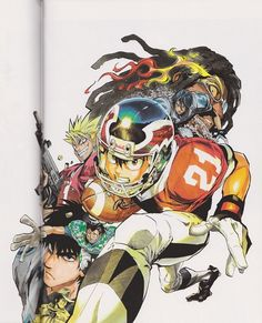 Yuusuke Murata, Studio Gallop, Eyeshield 21, Field of Colors, Yoichi Hiruma